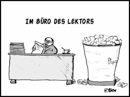 Lustige Bilder Und Cartoons Im Buro Des Lektors Was Mit Den